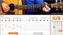 Jouer Hallelujah (Léonard Cohen/Jeff Buckley) - Cours guitare. Tuto + Tab
