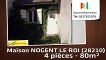 A vendre - Maison/villa - NOGENT LE ROI (28210) - 4 pièces - 80m²