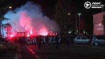 Les supporters lyonnais investissent Tola Vologe avant le derby