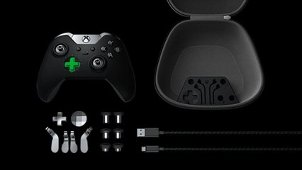 Unboxing Xbox One Elite Controller