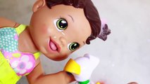 BABY ALIVE BUBBLE BATH Eating Orbeez & Bubbles Bubble Guppies Bath Playtime Messy Fun Tub