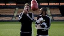 Scoring at Speed with Theo Walcott -- Gamedayplus -- adidas Football