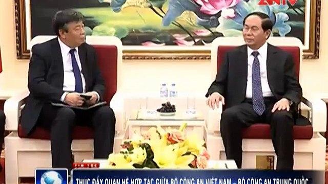 Thúc đẩy quan hệ hợp tác giữa Bộ Công an Việt Nam – Bộ Công an Trung Quốc