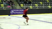 Cailey England - Senior Women Free - 2016 Skate Canada BC/YK Sectional Championships