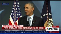 Obama: When I Was Younger I Was Pulled Over By Cops Just Because I'm Black