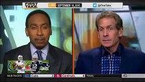 ESPN First Take | (9 - 10 - 2015) Colts vs Patriots AFC Championship