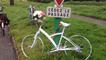 Plus de sécurité pour les vélos.