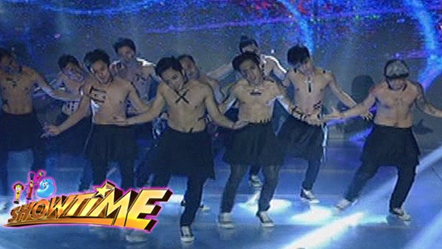 It's Showtime: Good luck performance of XB Gensan