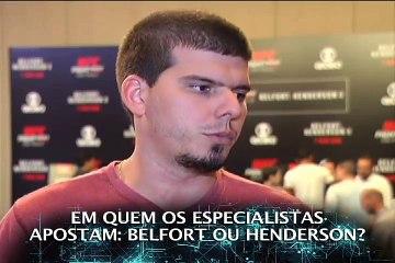 'MMA Alterosa' no UFC São Paulo para a luta Belfort x Dan Henderson