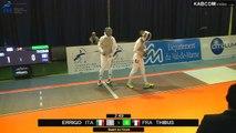 CdM fleuret dames St-Maur 2015 - 1/4 finale Thibus (FRA) vs Errigo (ITA)