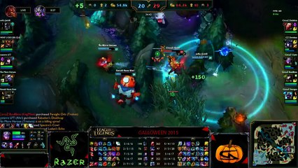 Galloween 2015- Stream League of Legends 02