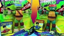 Teenage Mutant Ninja Turtles Stretch N Shout Leonardo Raphael TMNT Nickelodeon