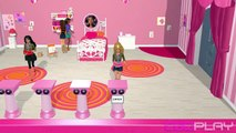 ♥ Barbie Dreamhouse Party Chelseas Room & Dress It Up Mini Game (Barbie Official Game)