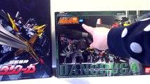 【やってやるぜ!】千値練 超獣機神 ダンクーガ METAMOR FORCE 変形合体 レビュー Sentinel DANCOUGA review