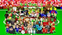 PHIL JAGIELKA GOAL! ⚽️Liverpool vs Everton 1 1⚽️ Highlights 2014 funny cartoon