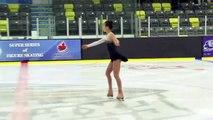 Syndy Shi - Novice Women Short - 2016 Skate Canada BC/YK Sectional Championships