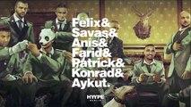 King of Rap. Kollegah & Kool Savas & Bushido & Farid Bang & Fler & Shindy. Cologne Berlin The Hyype.