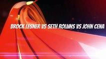 Wrestling Fight - Wrestling Sim Match - John Cena vs Seth Rollins vs Brock Lesner (WWE 2K14)