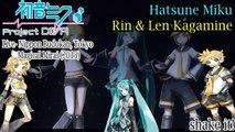 Project DIVA Live- Magical Mirai 2015- Hatsune Miku & Rin & Len Kagamine- shake it! (HD)