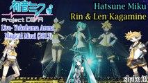 Project DIVA Live- Magical Mirai 2013- Hatsune Miku & Rin & Len Kagamine- shake it! with subtitles (HD)