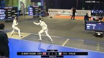 CdM fleuret dames St-Maur 2015 - Equipes Tableau 16 > 1/2 finale + match classement piste bleue (8/11/2015)