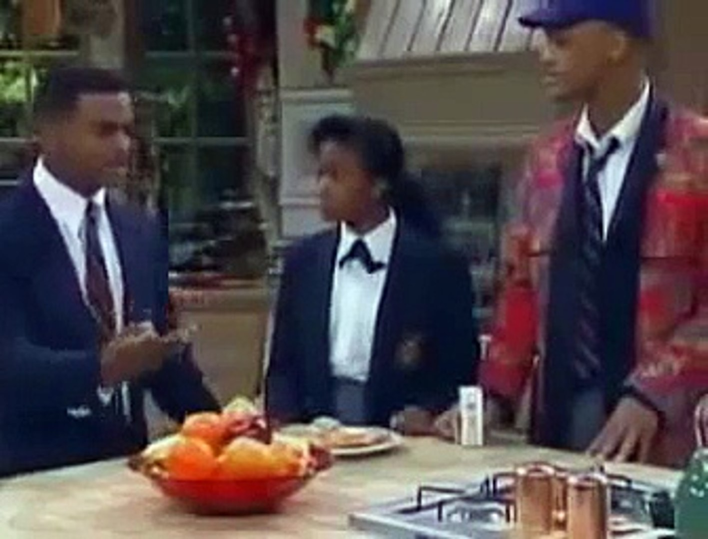 The Fresh Prince of Bel Air bloopers part 4