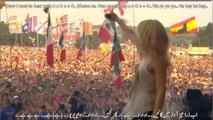 Shakira Whenever Wherever Glastonbury 2010 Live Lyrics Urdu Subtitles