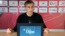 Conférence de presse d'Olivier Dall'Oglio avant Nancy-DFCO