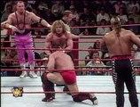 Steve Austin & Goldust & Shamrock & Legion of Doom vs. The Hart Foundation (WWF In Your House: Canadian Stampede)