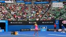 Maria Sharapova's great points in Australian Open 2015