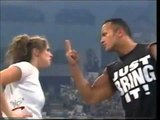WWF RAW 8-21-2000 Lita vs Stephanie Mcmahon (The Rock Referee) requested by jerry springs