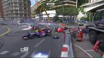 GP2 Crashes 2013 part 1