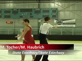 M. Tocher/M. Haubrich (Pre-Novice Free Dance)