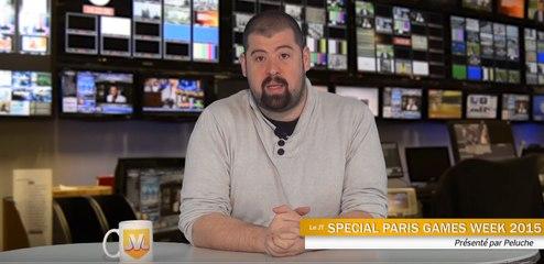JT #11 : L'actu JV depuis le Paris Games Week 2015 de