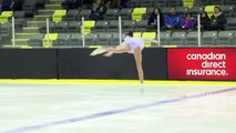 Olivia Gran -  Novice Women Free - 2016 Skate Canada BC/YK Sectional Championships