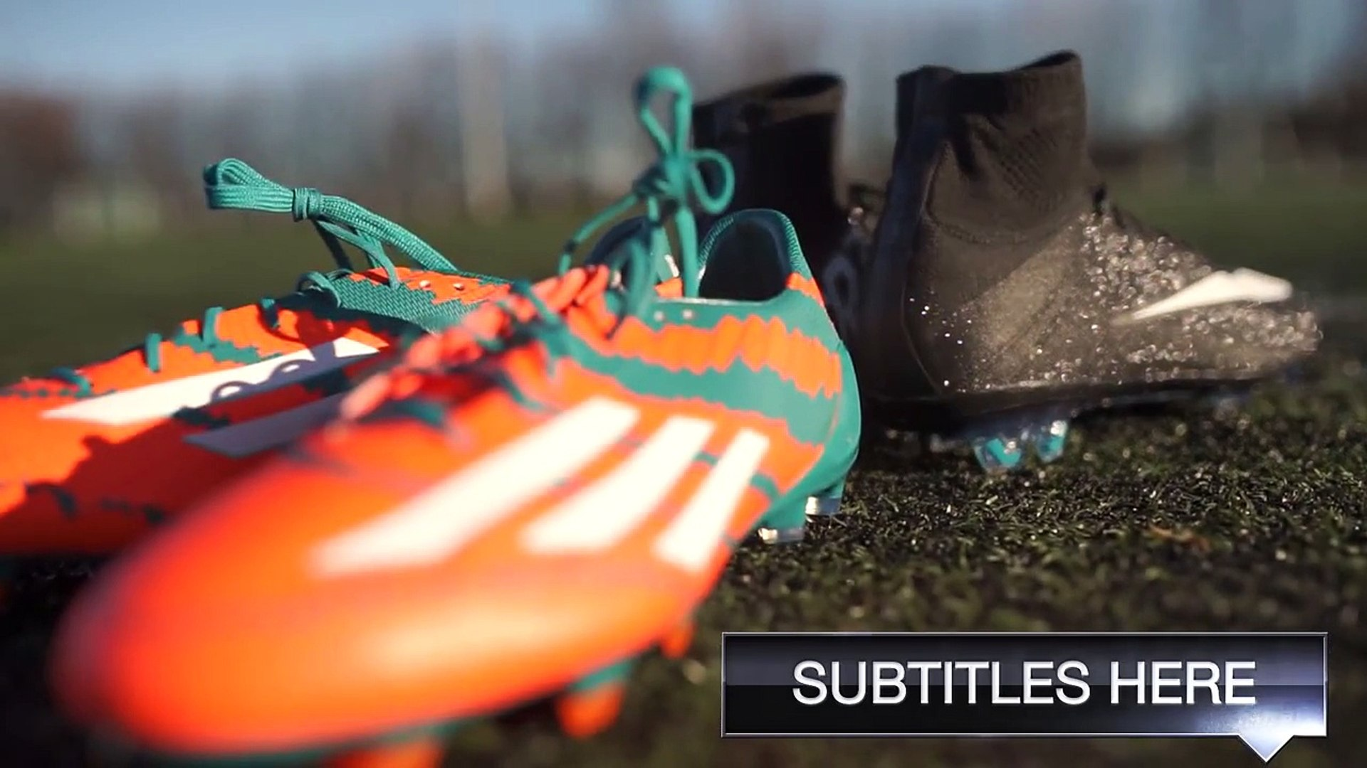 Ronaldo VS Messi Boot Battle: Nike Superfly CR7 vs adidas Messi15 Test & Review | 4K