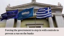 Was ist ein Grexit und wie würde ein Austritt Griechenlands aus Auswirkungen auf den euro? In 60 Sekunden