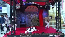 """日本エレキテル連合?がキレキレの""""ホラー""""ダンスを披露!「Lenovo Presents SHIBUYA HALLOWEEN 2014」シブハロ2014(1) #SHIBUYA H"""