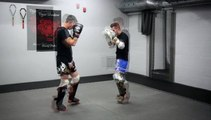 Tiger Shadow muay thai kickboxing boxe thai St Jerome St Sauveur