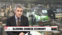 1%p drop of China's GDP to cut up to 0.6%p of Korea's GDP: report
