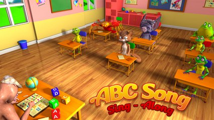 """ABC Song"" (Lets Sing-Along) - Nursery Rhymes"