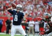 Titans QB Marcus Mariota Throws First Career TD Pass | Titans vs. Buccaneers | NFL