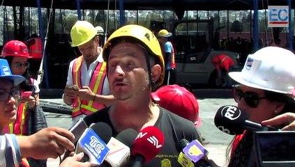 La carpa del Cirque Du Solei se levantó en Quito