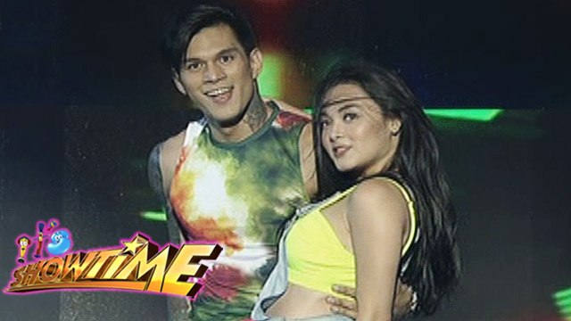 It's Showtime: Zeus and Meg's sexy performance on It's Showtime