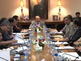 CM Sindh chairs meeting on Rapid Bus Transport (09-11-2015)