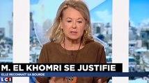 Sophie de Menthon : El Khomri est là «parce qu'elle a un nom pas forcément facile à prononcer»