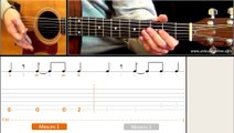 Jouer Pumped up kicks (Foster The People) - Cours guitare. Tuto + Tab