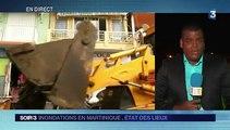 Inondations en Martinique : le bourg de Rivière-Pilote durement touché