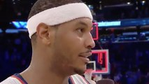 Carmelo Anthony GOES OFF on Heckler in Stands After Game
