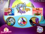 Frozen Games Princess Elsa Beauty Legs Spa Disney Frozen Games For Kids YouTube